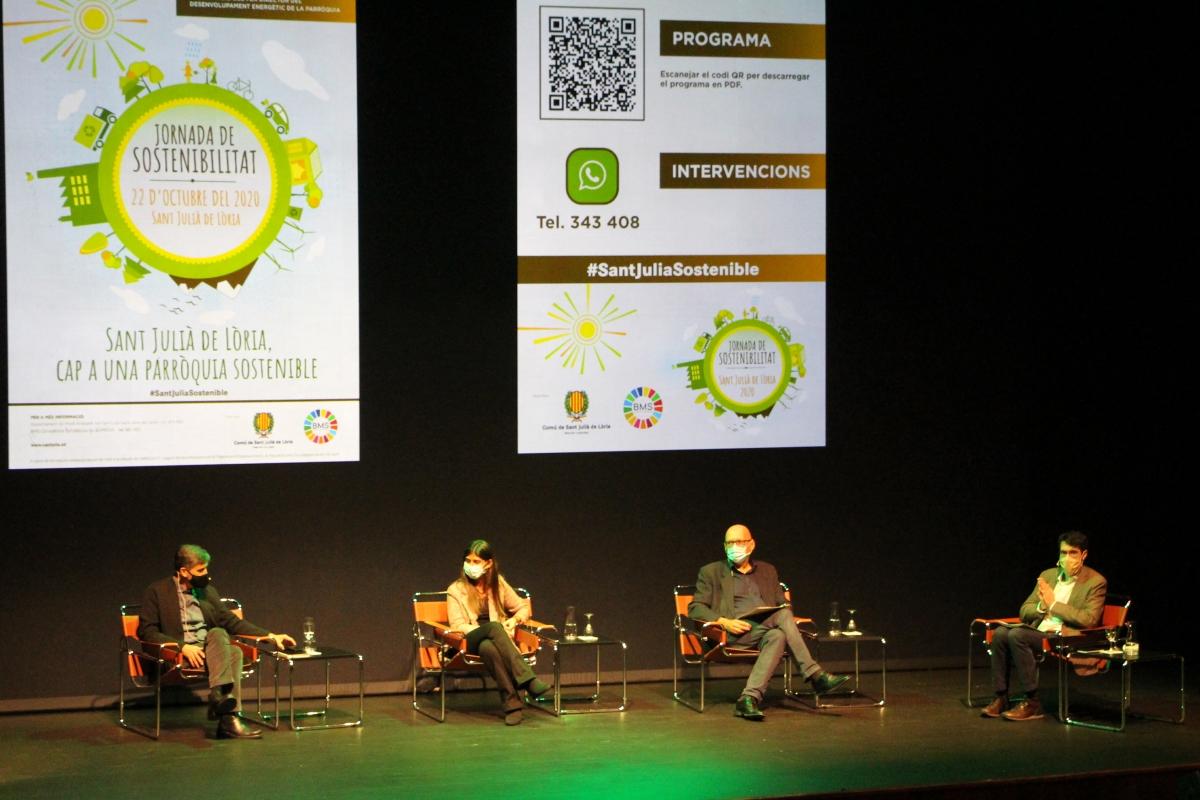 Taula rodona sobre els reptes i oportunitats per la Covid-19 en temes de sostenibilitat i medi ambient.