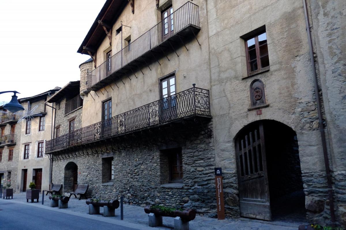 El museu Casa d'Areny-Plandolit.