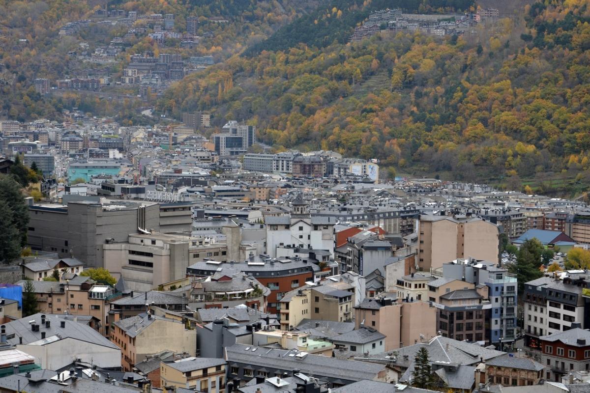 Imatge de la vall central.