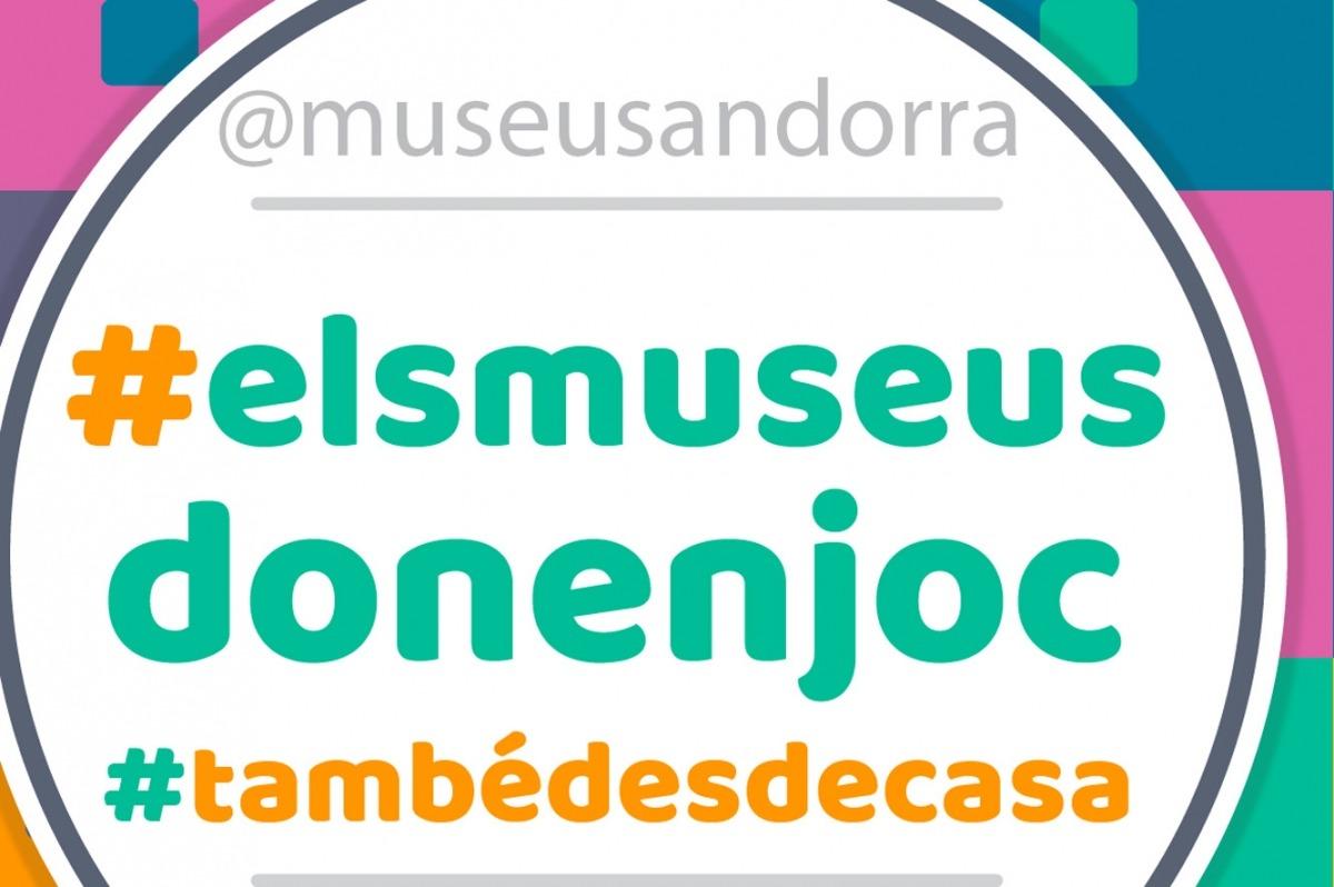 El cartell informatiu dels jocs dels museus.