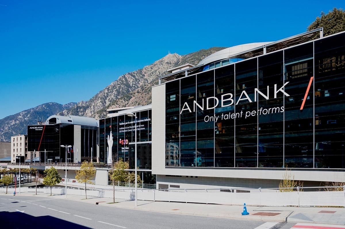 La seu social d'Andbank.