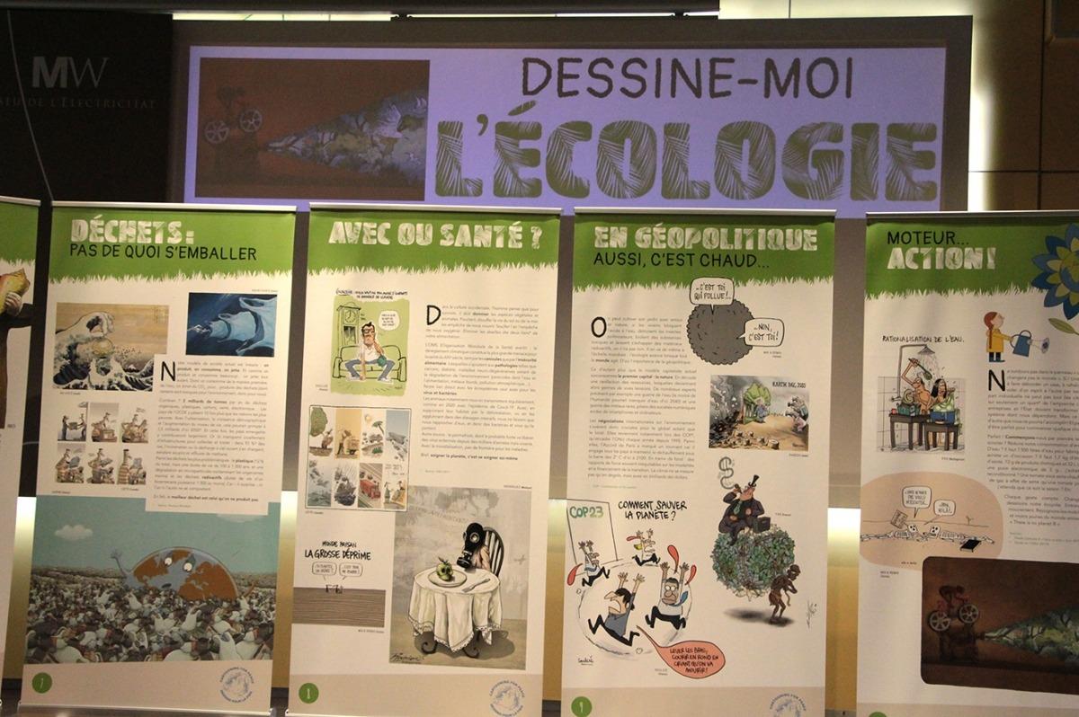 La mostra que es pot veure al Museu de l'Electricitat.