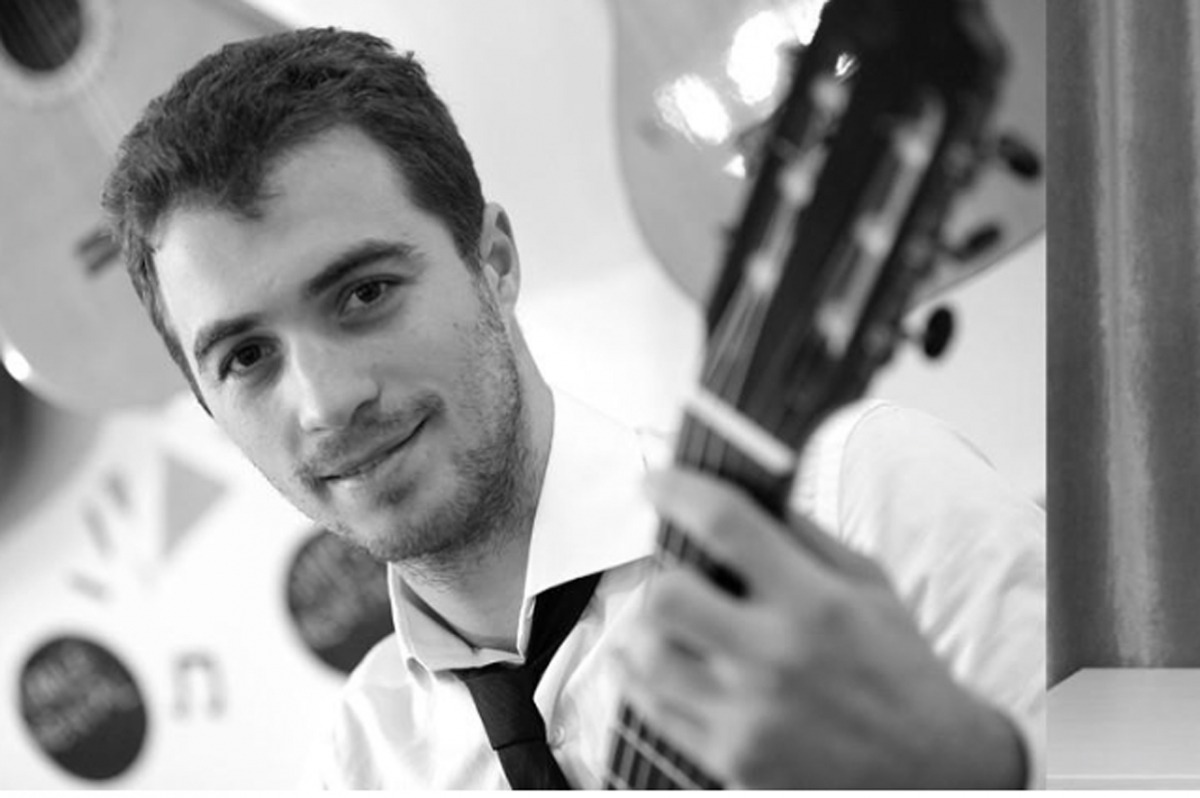 El guitarrista David Font (foto) farà duet amb el clarinetista Unai Gutiérrez.