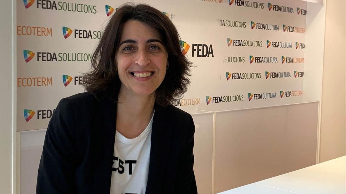 La directora general adjunta de FEDA, Imma Jiménez.