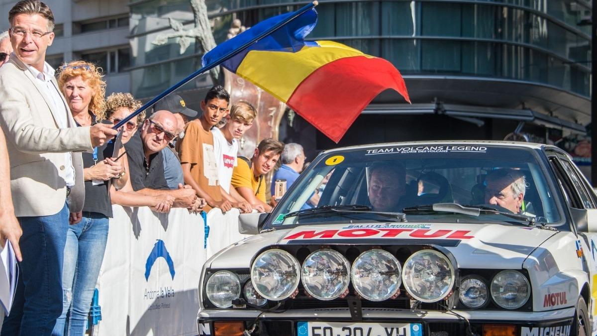 La sortida d'una edició anterior del Ral·li Andorra.