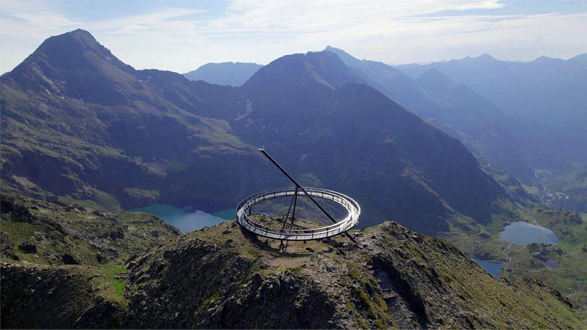 Una imatge del mirador solar.