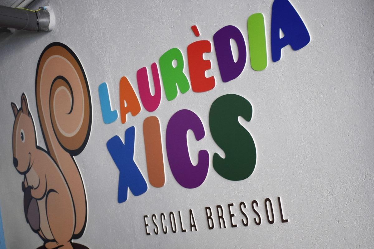 L'escola bressol laurediana ha renovat la seva imatge.