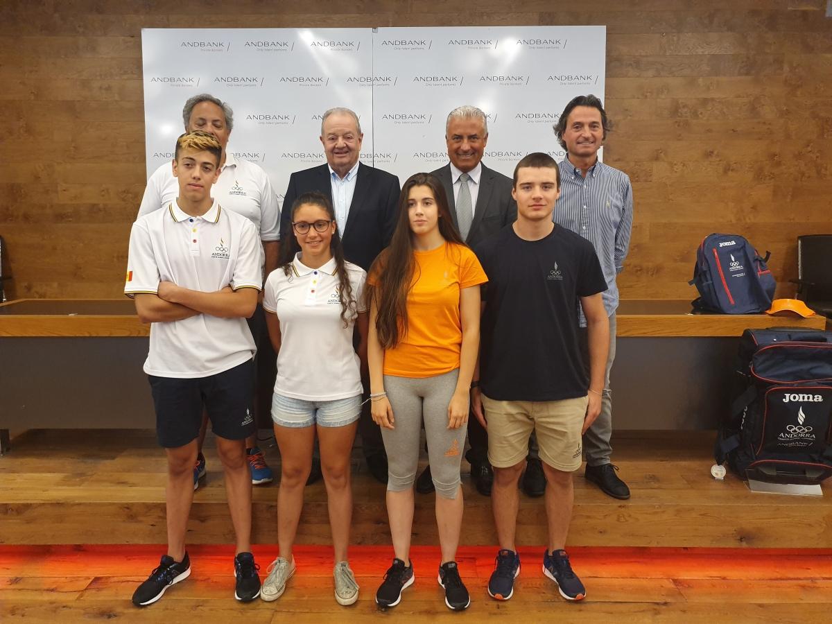 Cinc esportistes viatgen a Bakú als FOJE d'estiu