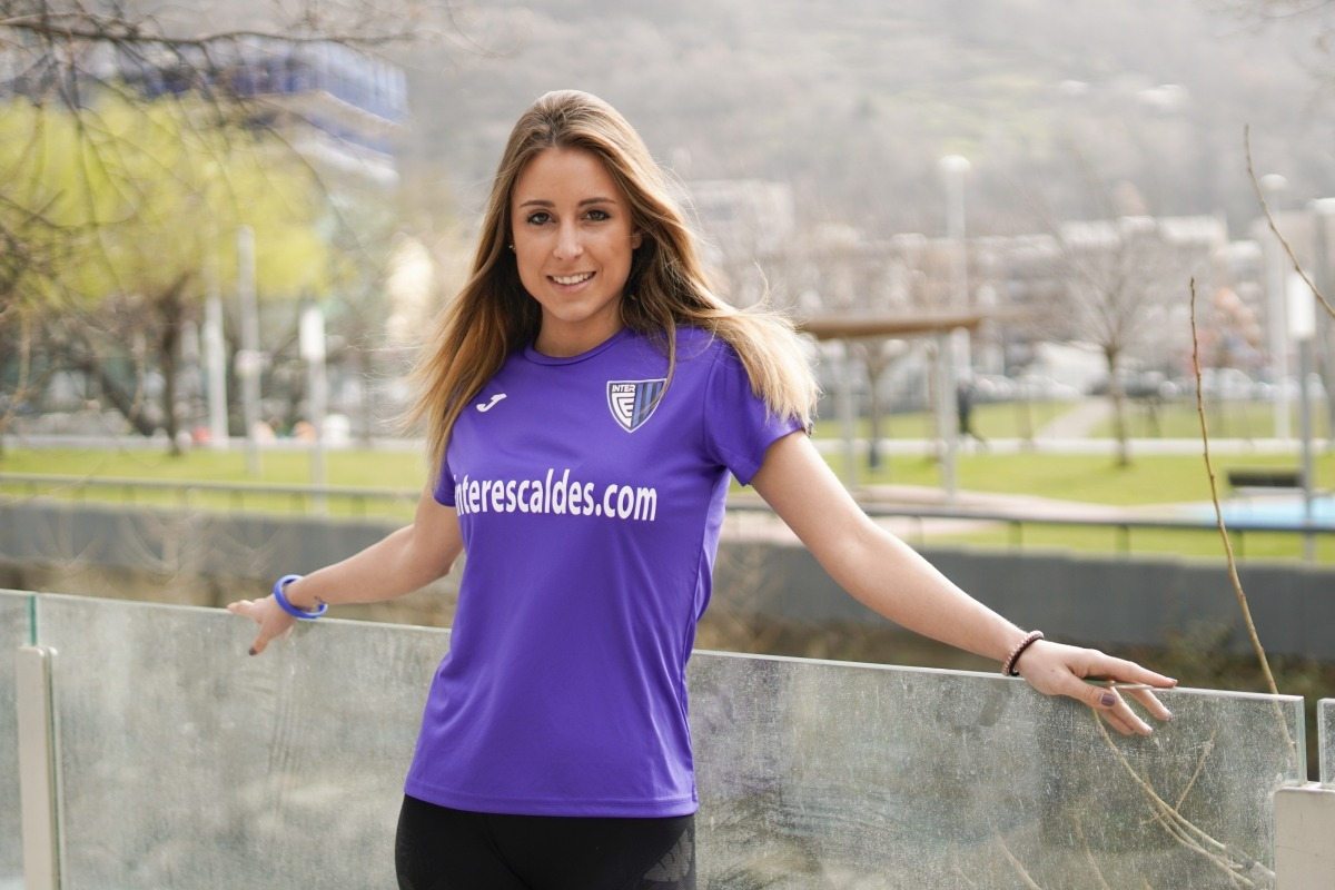 L'Inter Club Escaldes vestirà de lila diumenge contra el FC Santa Coloma. Foto: Interescaldes.com