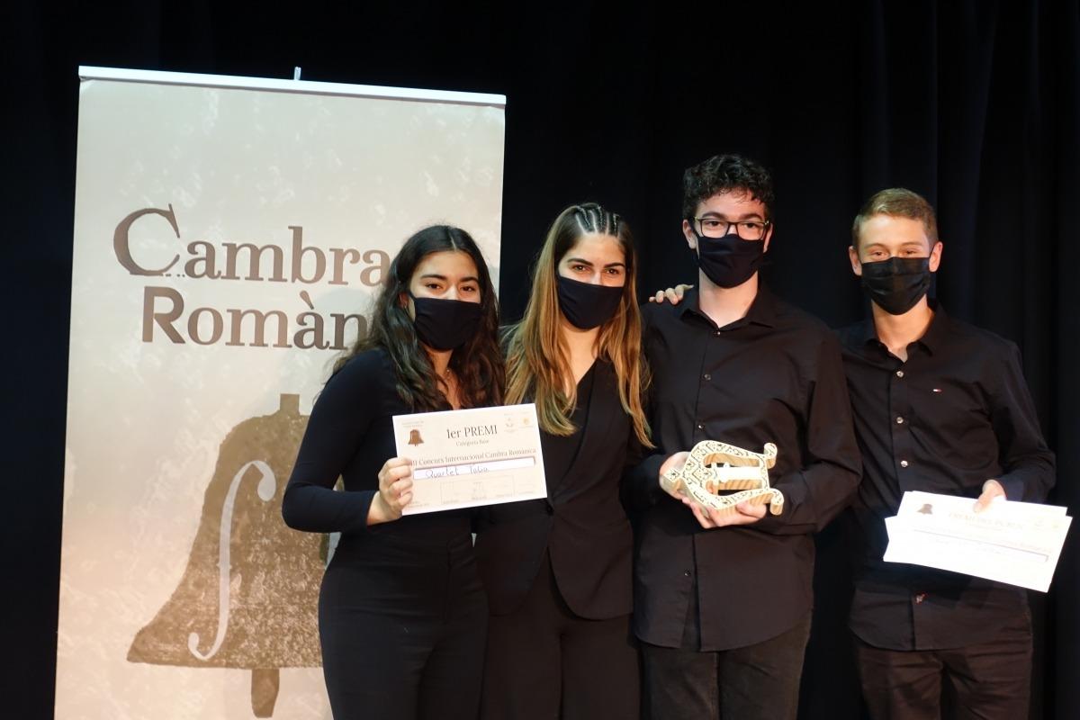 El Quartet Talia, de Badalona, guanyador de a categoria Base.