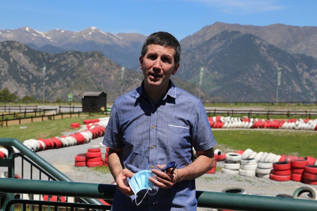 El director de Naturlandia, Xabier Ajona.