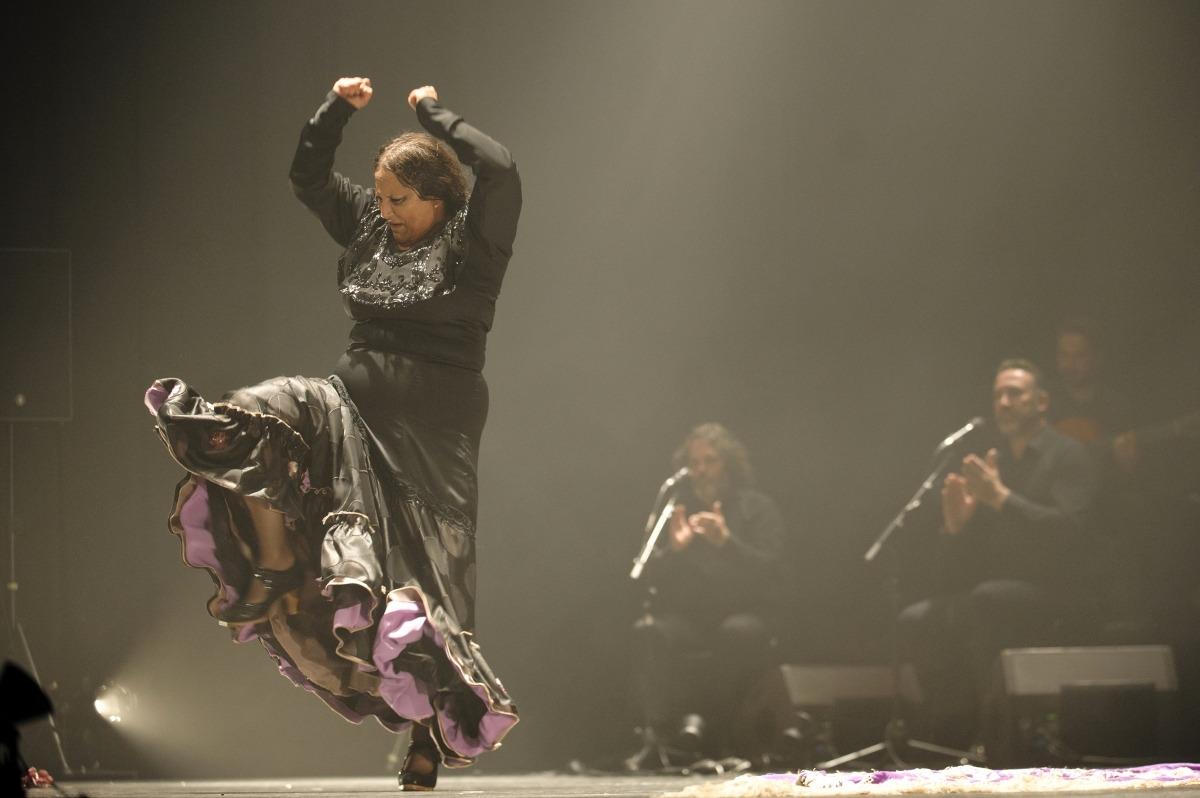 Actuació de la companyia La Lupi en el primer cicle dedicat al flamenc que es va fer al març.