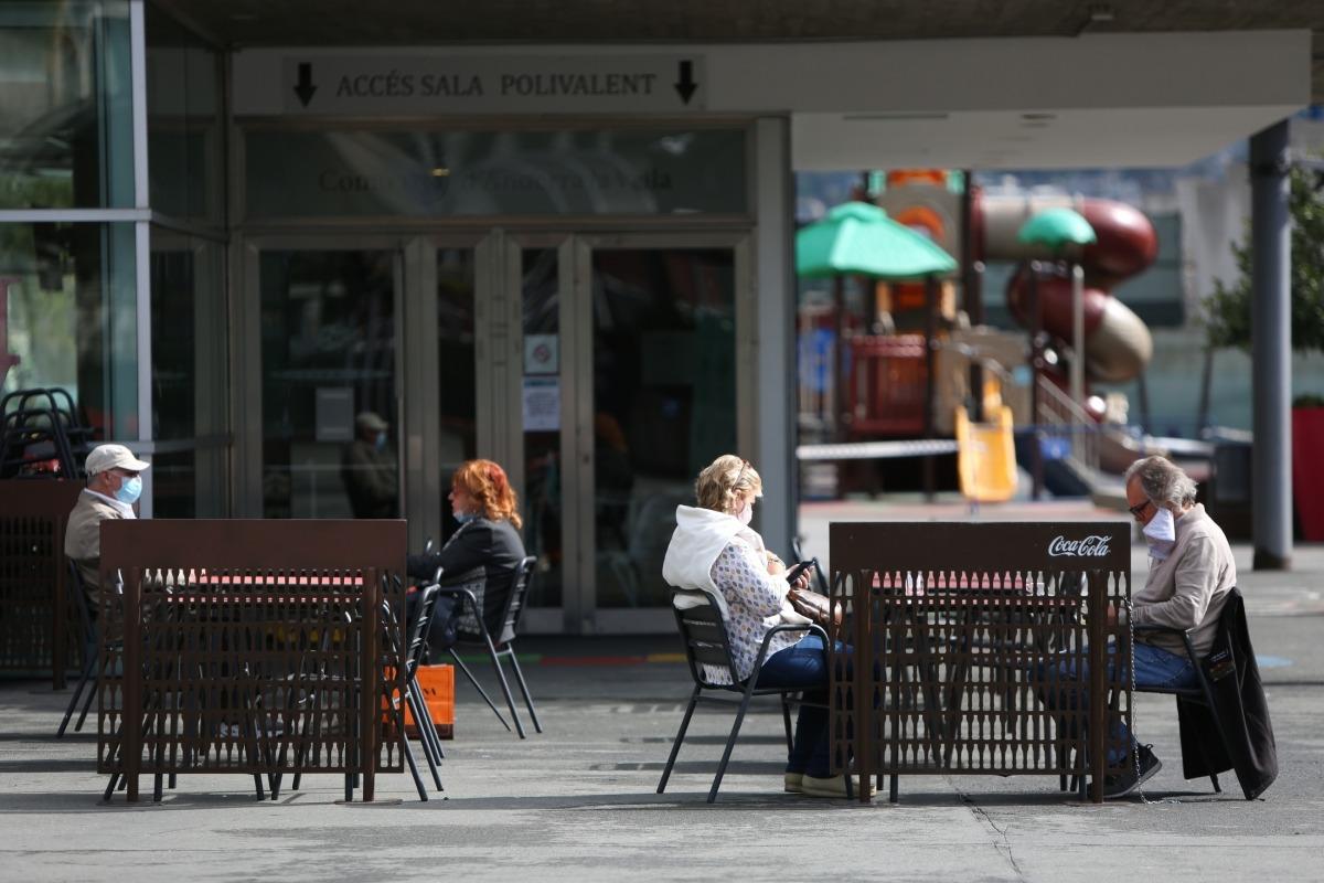 De nou, distància i aforament limitat, al BonDia de la plaça del Poble.