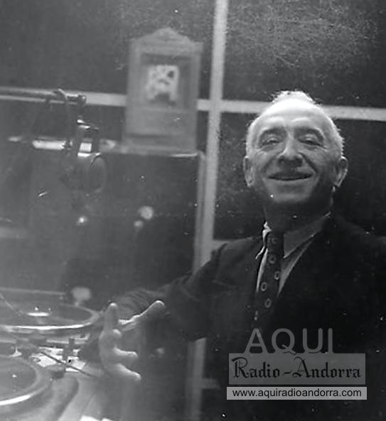 Edmond Abouly (Tolosa, 1886-Bugue en Dorgone, 1968), en una fotografia probablement coetània al seu pas per l'estació d'Encamp.
