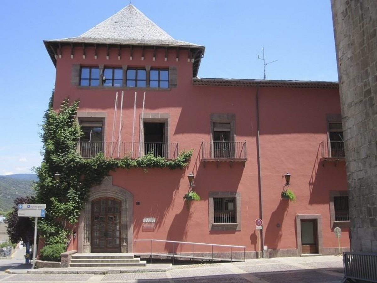L'Ajuntament de la Seu d'Urgell.