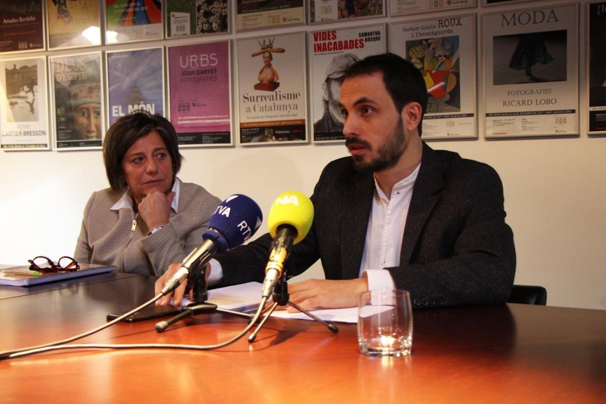 El sociòleg Albert Gomà, durant la presentació del seu treball aquest dijous.