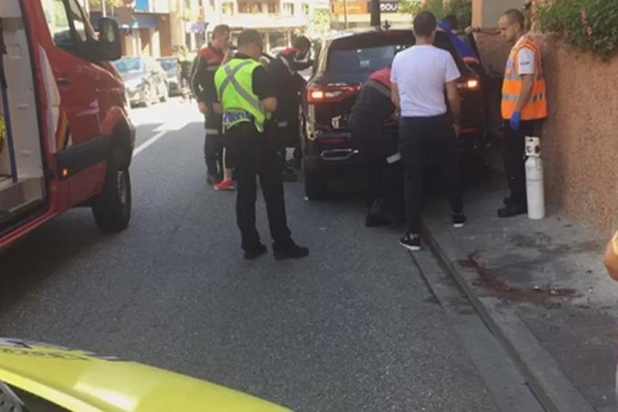 L'atropellament es va produir diumenge a la tarda a la Massana.