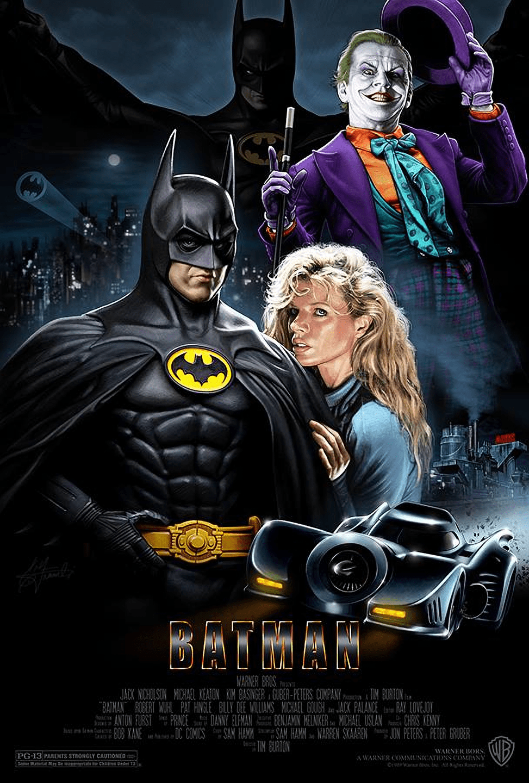 El 'Batman' de Tim Burton (1989) va catapultar les pel·lis de superherois la categoria de films de semiculte.
