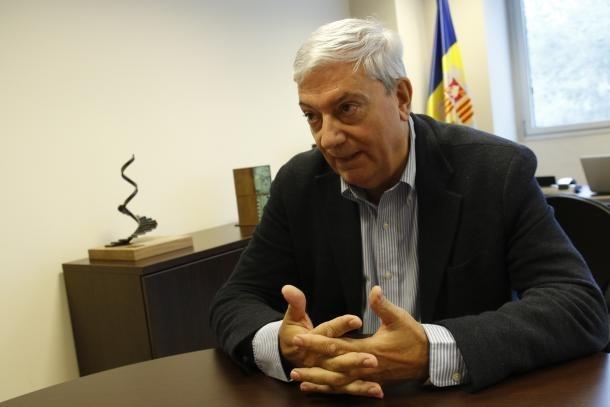 El president de la Confederació Empresarial, Gerard Cadena, en una imatge d'arxiu.