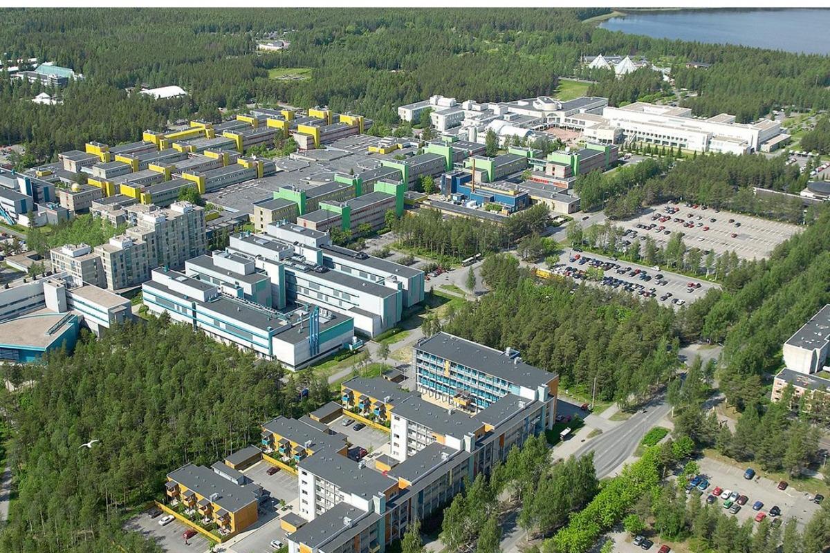 El campus de la Universitat d'Oulu, a Finlàndia.