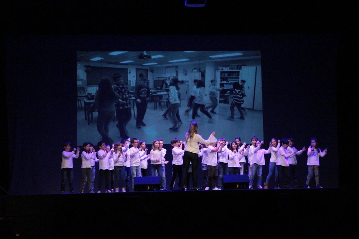 Alumnes de l'escola andorrana d'Ordino.