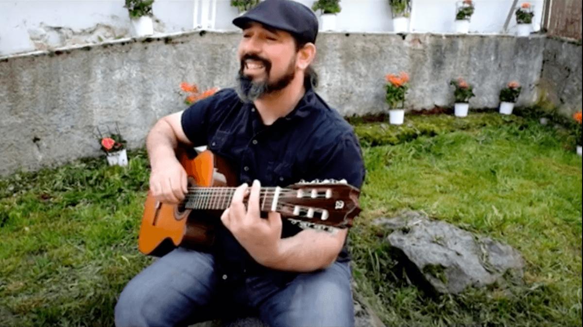 El músic, Juli Barrero.