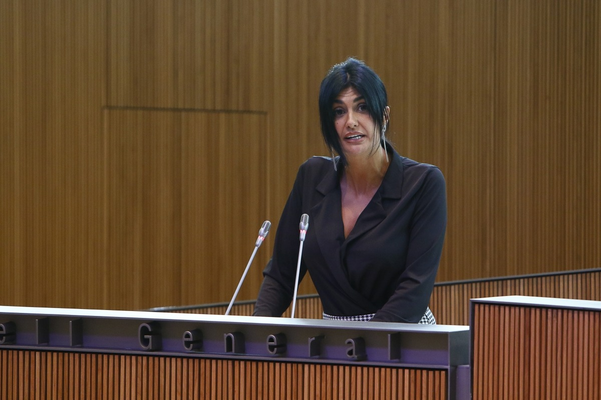 La consellera Carine Montaner.