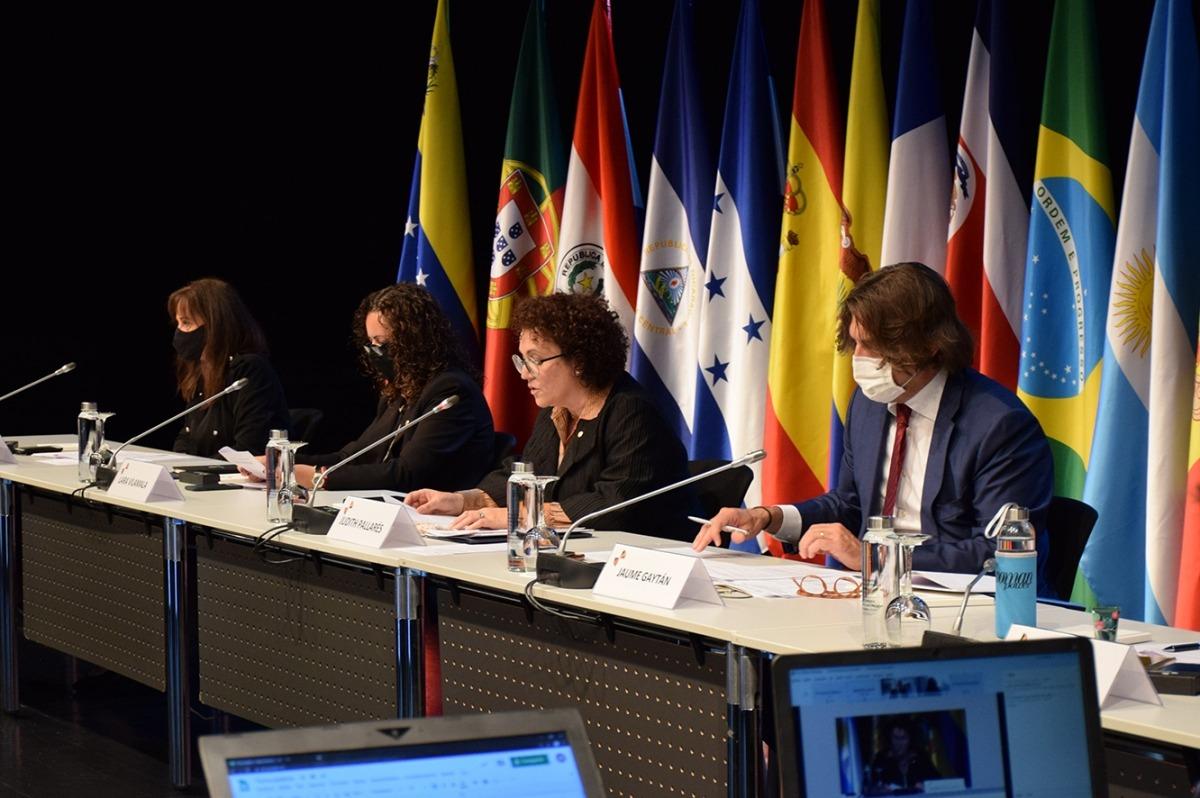 Un moment de la celebració de la 19a Conferència iberoamericana de ministres d'Administració Pública i Reforma de l'Estat.