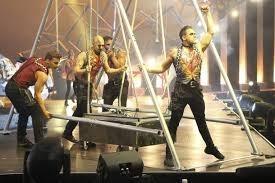 Un moment de la darrera edició de l'espectacle del Cirque du Soleil que es va produir a Andorra.