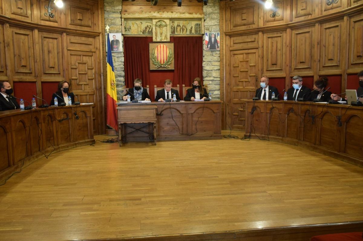 Sessió de consell de comú de Sant Julià de Lòria.