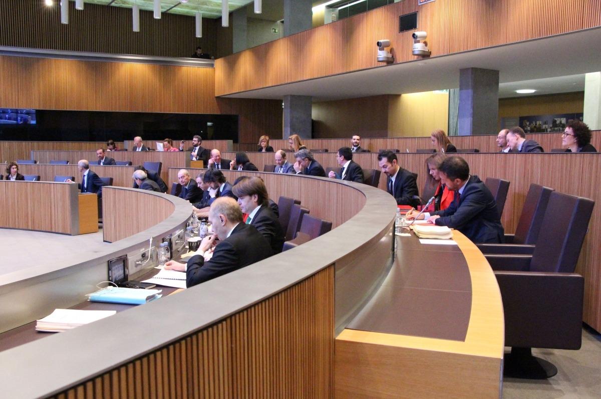 ANA/ Una imatge dels consellers generals, durant la sessió de Consell General d'aquest divendres.
