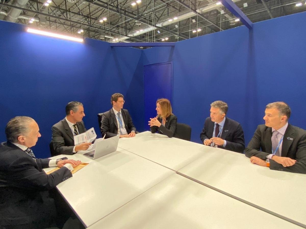 Reunió bilateral entre Andorra i el Brasil.