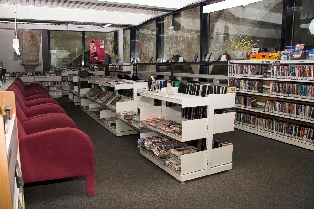 Equipaments com la biblioteca de Sant Agustí podran tornar a reprendre l'activitat, parcialment.