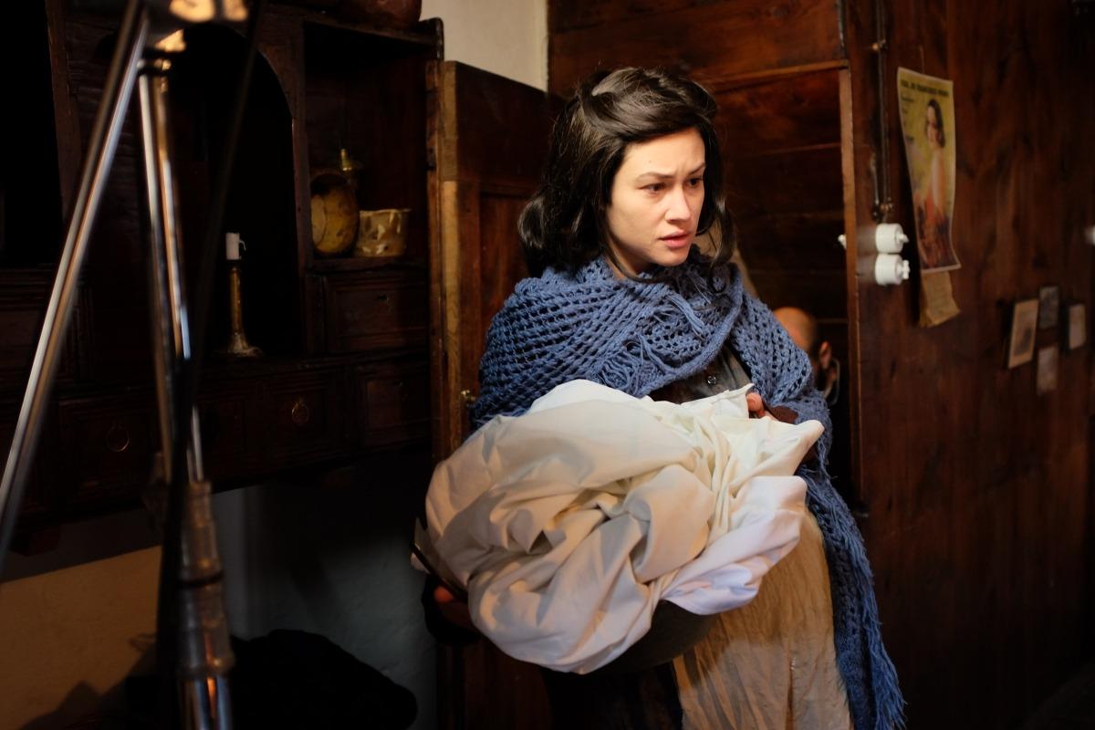 Aida Folch, al teaser de 'Fred' que es va rodar el desembre del 2016 a Casa Cristo; el llarg es filmarà si es compleixen els terminis a l'hivern que ve.