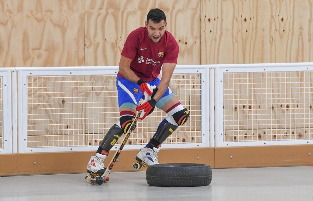 El Barça d'hoquei patins també vindrà de pretemporada al país. Foto: Twitter Barça Hoquei