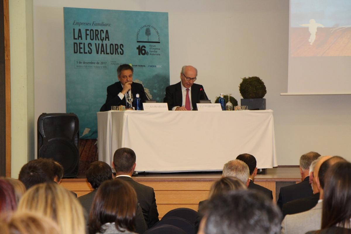 L'empresa familiar andorrana destaca la seva adaptació als canvis a l'espera de l'acord d'associació L'empresa familiar andorrana destaca la seva adaptació als canvis a l'espera de l'acord d'associació