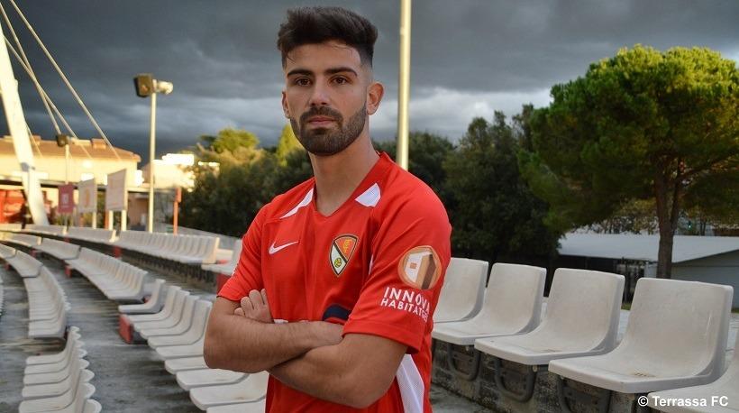 El santfostenc Adri Lledó fitxa pel Terrassa. Foto: Terrassa FC