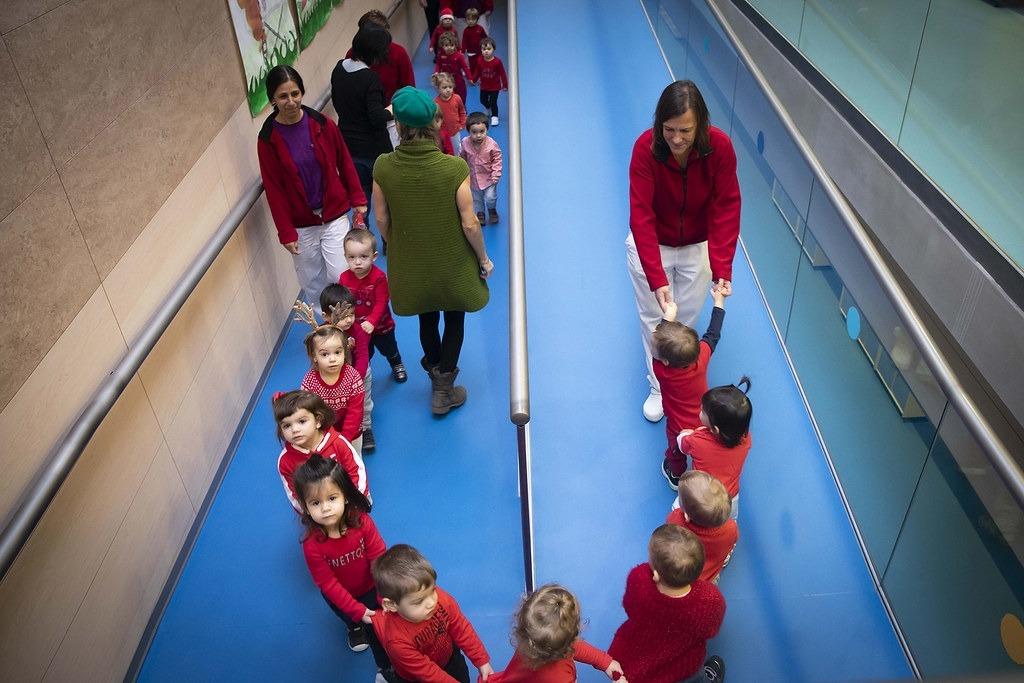 L'escola bressol dels Serradells.