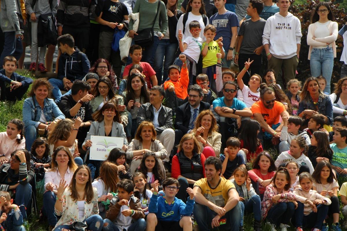 ANA/foto de família de tots els participants en el 8è Fòrum Escola Verda