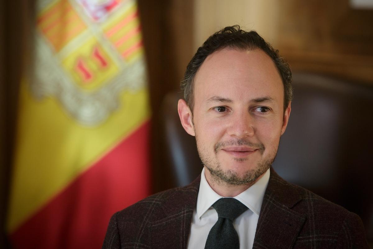 El cap de Govern, Xavier Espot.