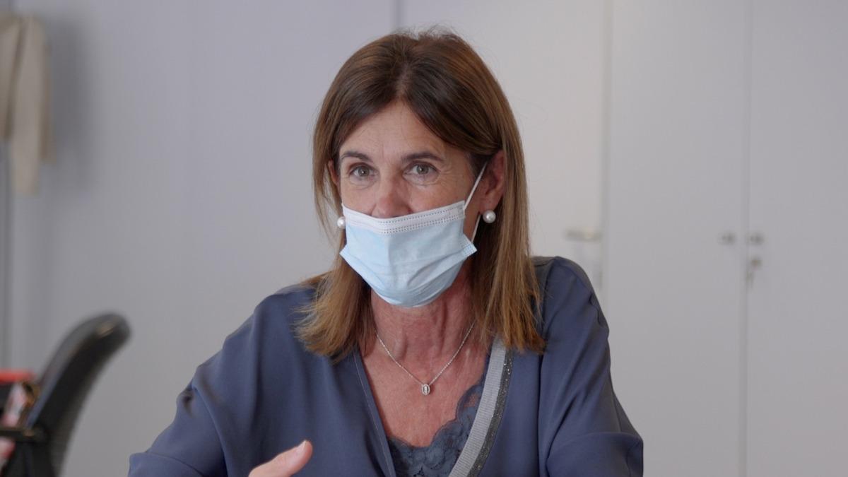 La ministra d'Educació i Ensenyament Superior, Ester Vilarrubla.