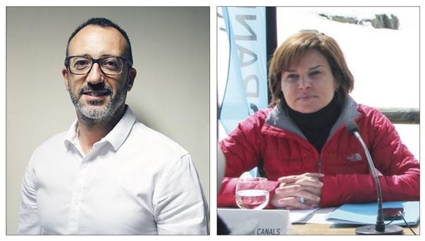 Víctor Filloy i Verònica Canals.