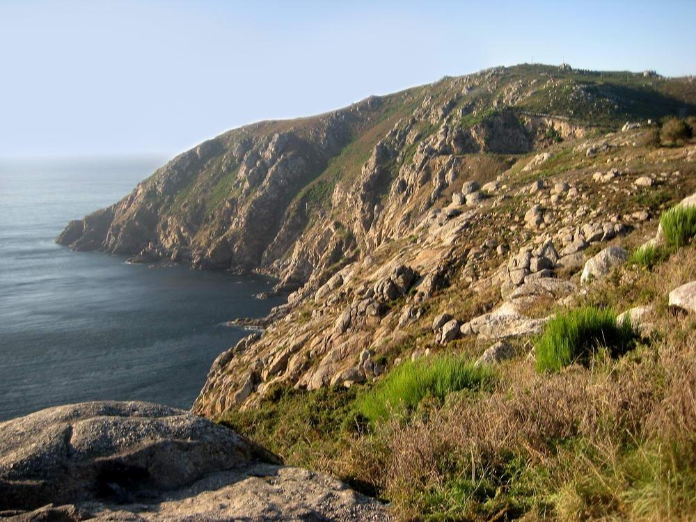 El cap de Fisterra a Galícia.