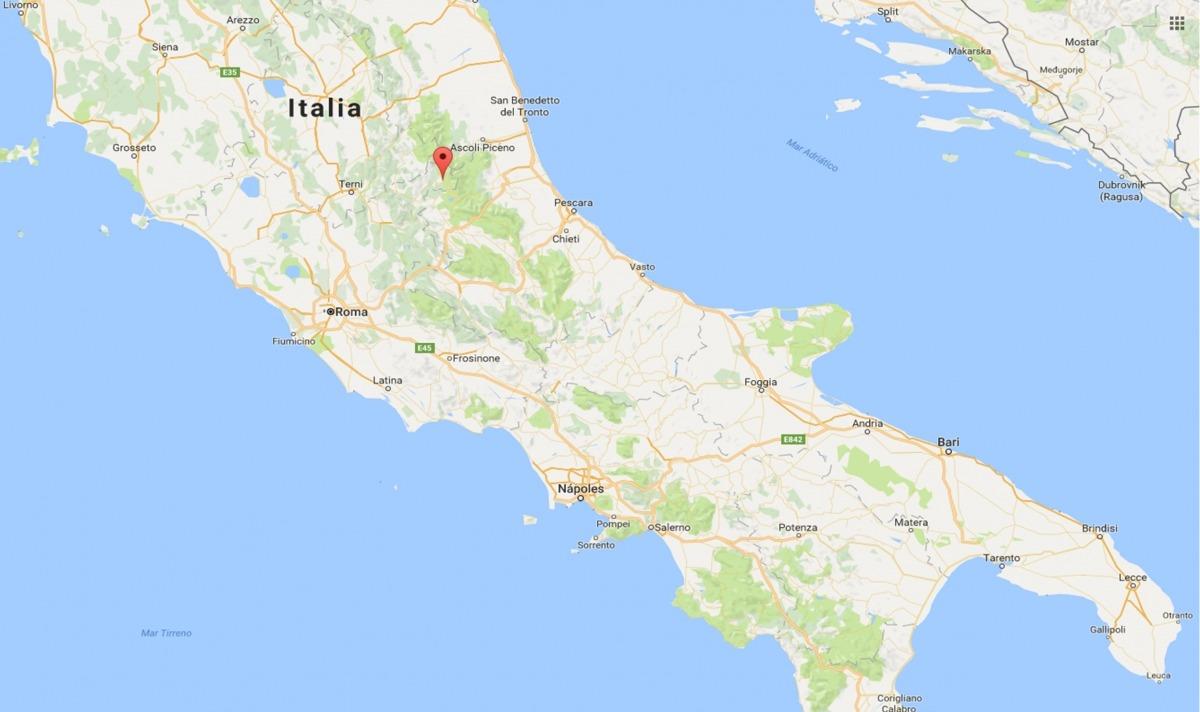 El Govern mostra el seu condol per les víctimes del terratrèmol d'Itàlia