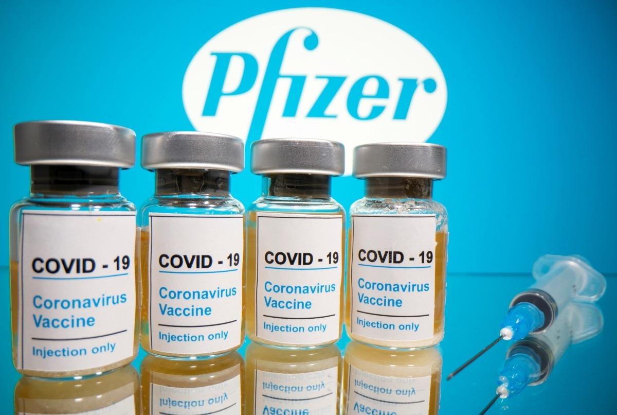 Mostres de vials de la vacuna.
