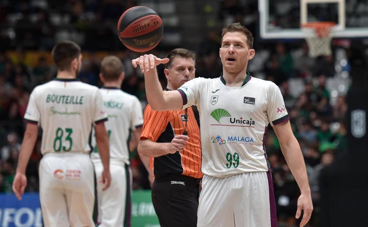 Gal Mekel signa fins a final de temporada amb el BC MoraBanc. Foto: ACB Photo