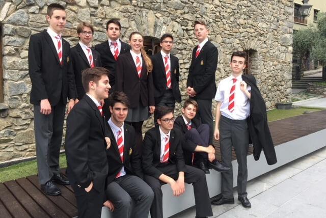 Una imatge del grup de joves Andchor.
