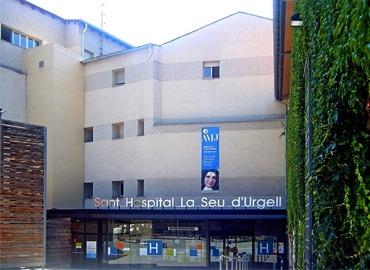 Exterior del centre hospitalari