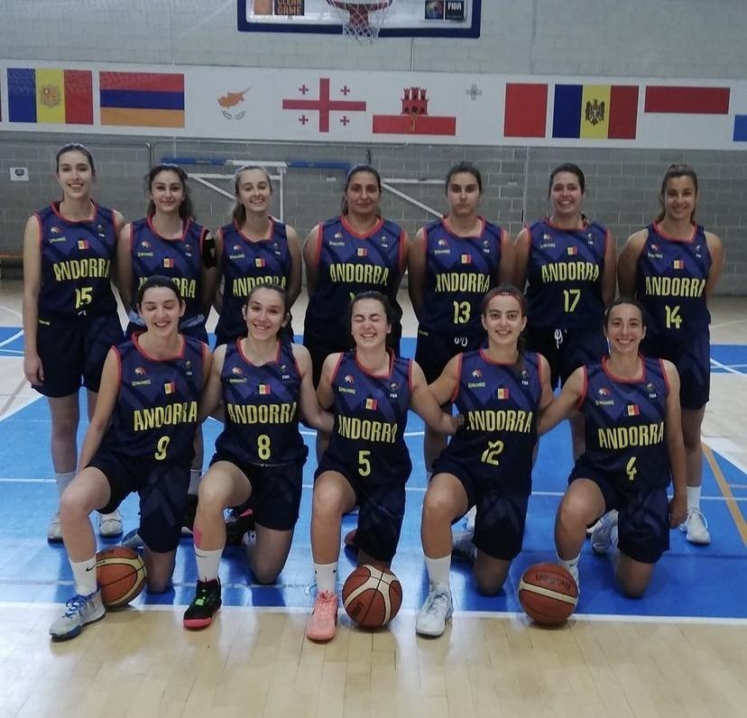 La selecció absoluta femenina competeix a partir d'avui a Nicòsia. Foto: Instagram