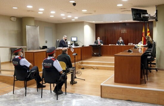 Vista de la sala d'audiències lleidatana.